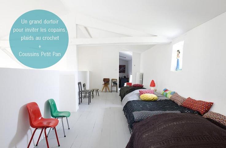 les 50 meilleures images du tableau chambre dortoir sur pinterest dortoir chambre enfant et. Black Bedroom Furniture Sets. Home Design Ideas