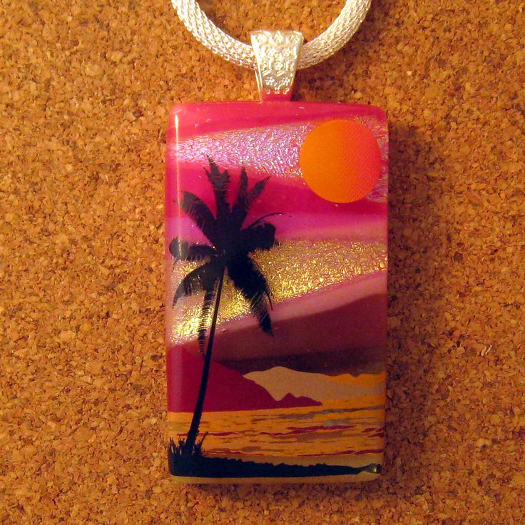 Fused Glass Jewellery Tree Inspired