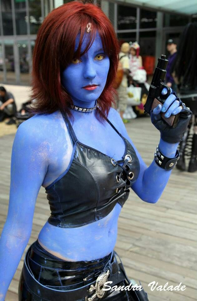 567 best images about cosplay mystique on pinterest for Comic con body paint