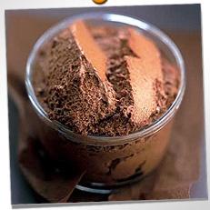 Mousse au chocolat...