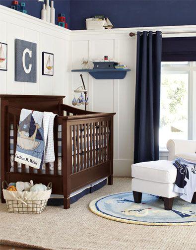Boy nursery room