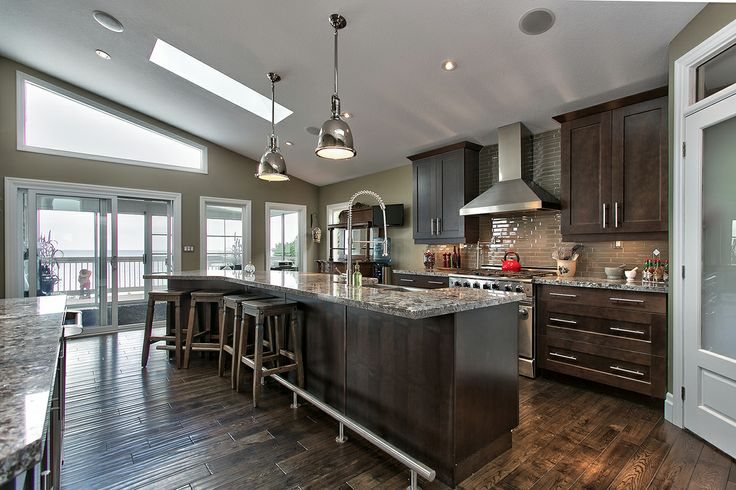 Vaulted Ceilings with Skylights