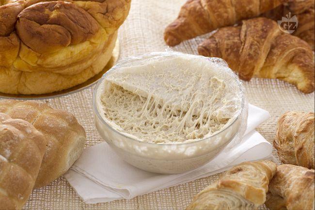 Il lievito madre è un impasto fermentato in cui si sviluppano batteri e fermenti lattici che favoriscono la lievitazione naturale.