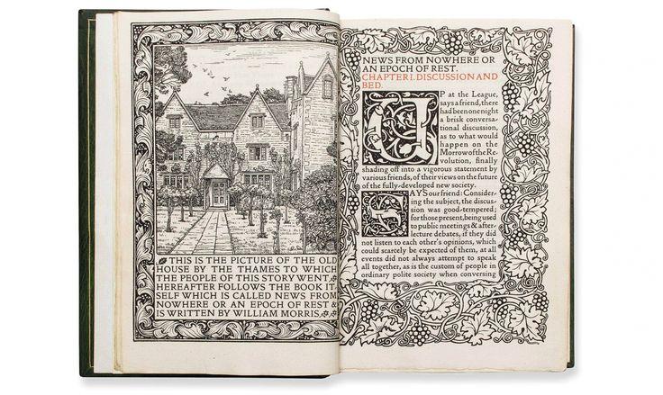 'Noticias de ninguna parte' (1890), la novela utópica de ciencia-ficción en la que William Morris plasmó sus ideales humanistas y ecologistas.