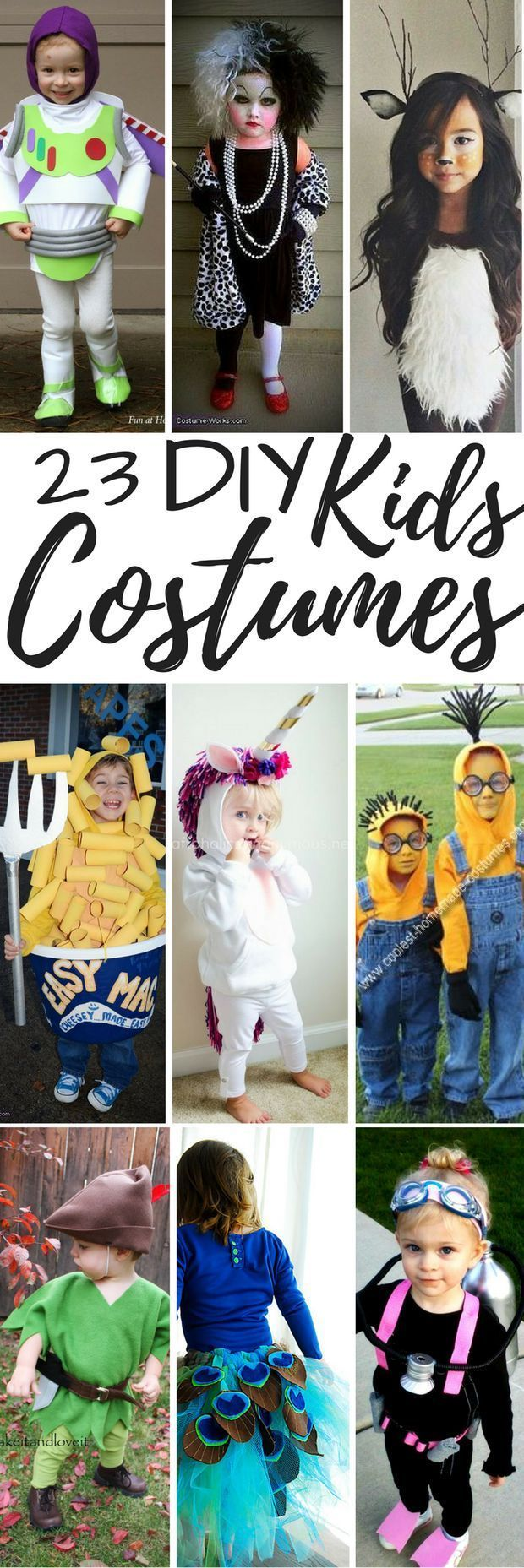 23 DIY Kids Costumes | Kids Halloween Costume | Make It Yourself outfit