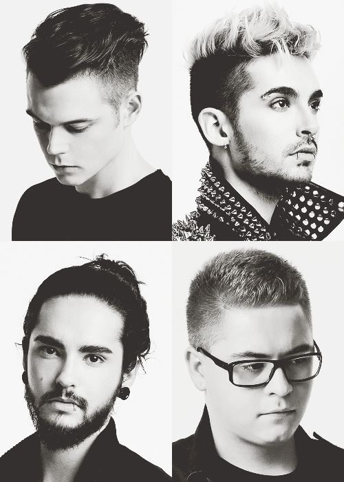 tokio hotel - georg, bill, tom, gustav