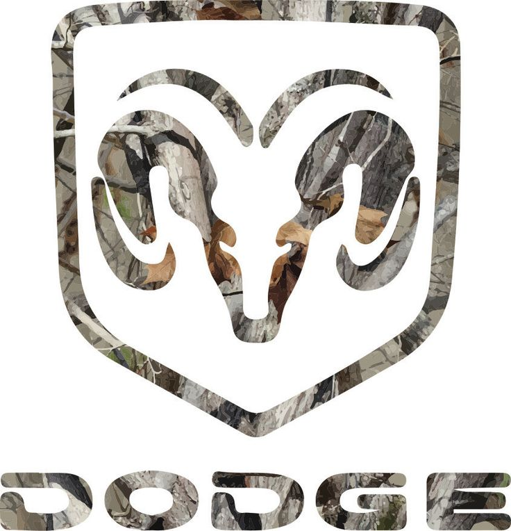 Dodge Camo Contour Cut Decal Stickers by LetsPrintBig on Etsy
