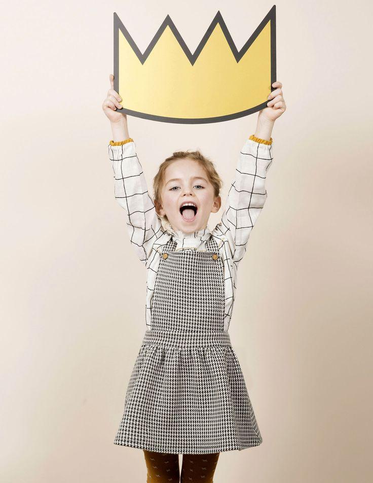 Les carreaux et le tartan pour petites filles, on adore - Blune Paris