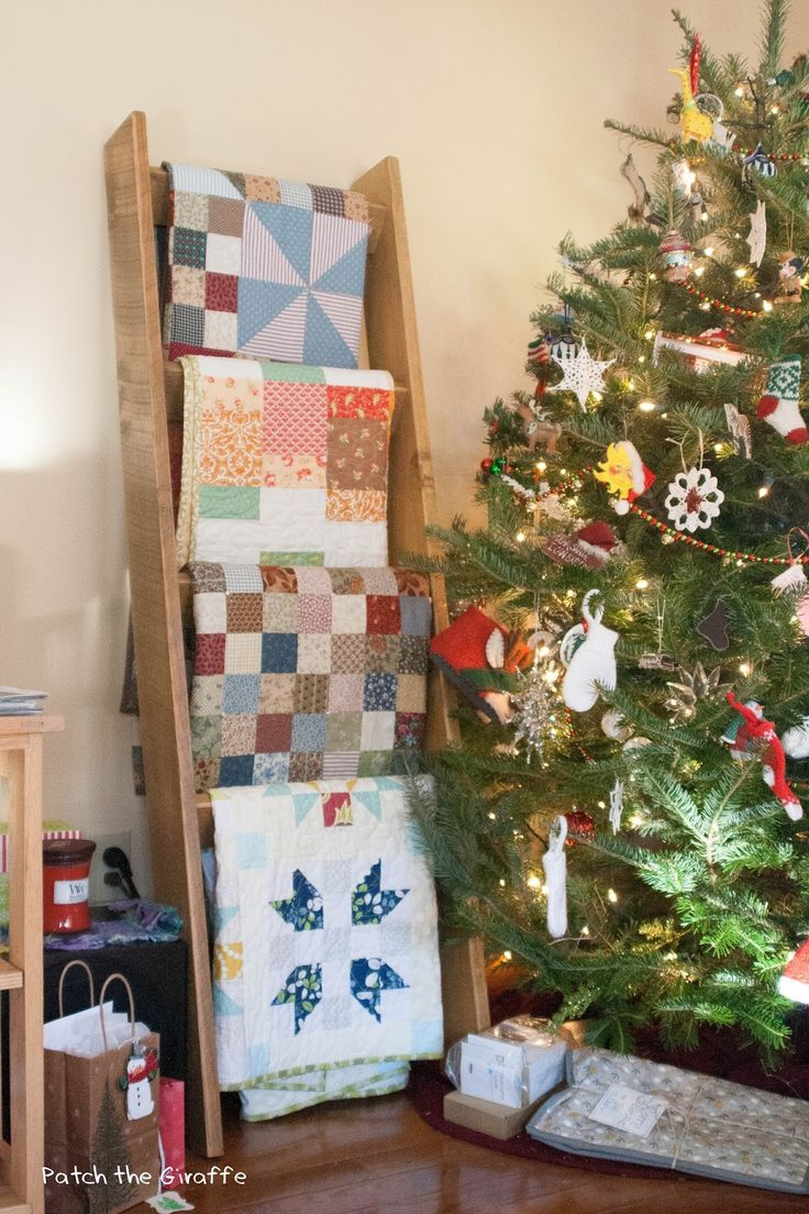 Quilt Ladders ... An Attempted Tutorial