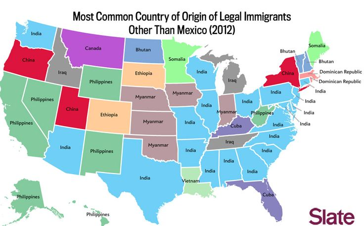 What are the biggest immigrant groups in your state?   About 15% of new immigrants to America are from Mexico. Here's where other immigrants are coming from in every state