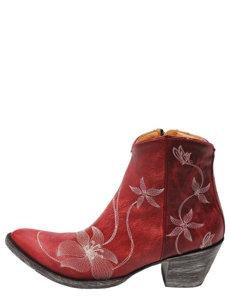 Old Gringo Flor Loca Red Womens Boots BL1136-3 | Old Gringo | Boot Star