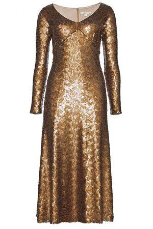 Шик и блеск:20 блестящих платьев для новогодней вечеринки
