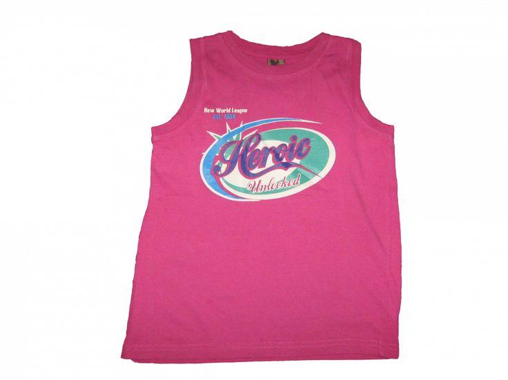 Maat 116/122 Hemd Roze met print voor  Merk Unlocked
