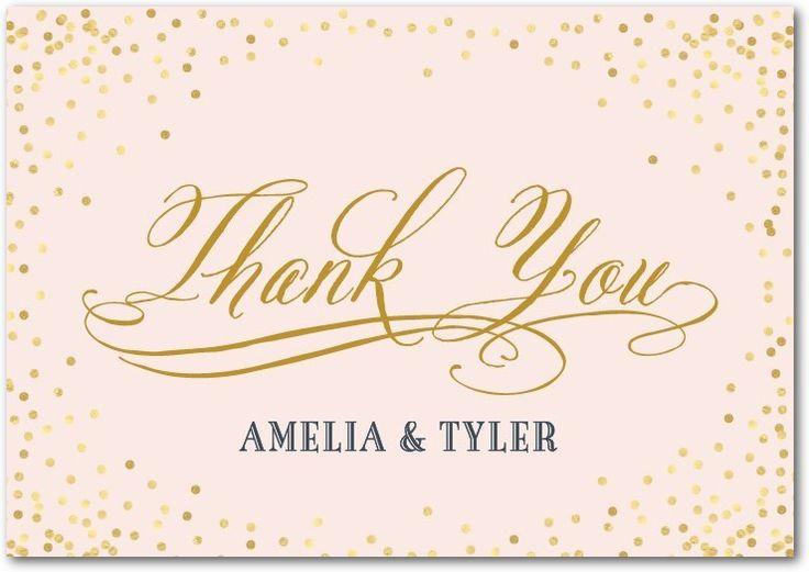 The 25 best Thank you card wording ideas on Pinterest Wedding