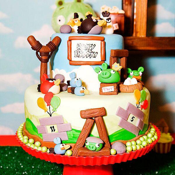 Оригинальные торты на детский день рождения (7 фото)