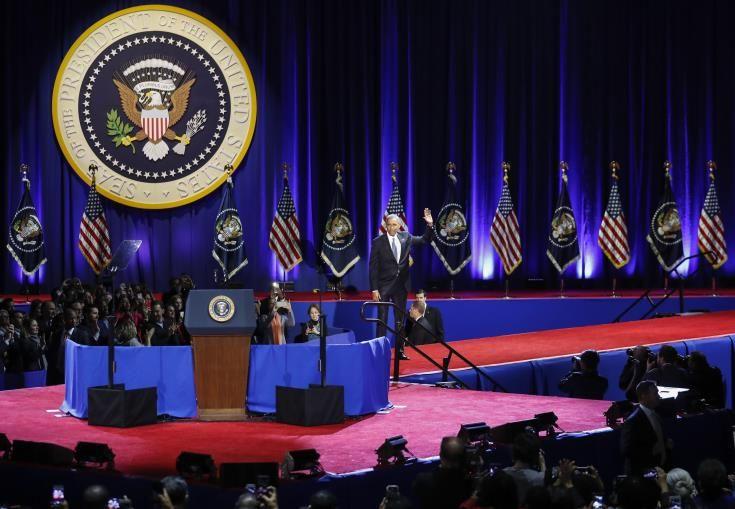 Αποχαιρετιστήρια ομιλία Ομπάμα στο Σικάγο