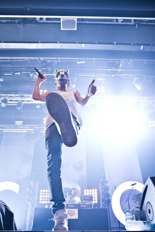 Yes guys, we have a rapper who wears a panda mask ;-) Cro