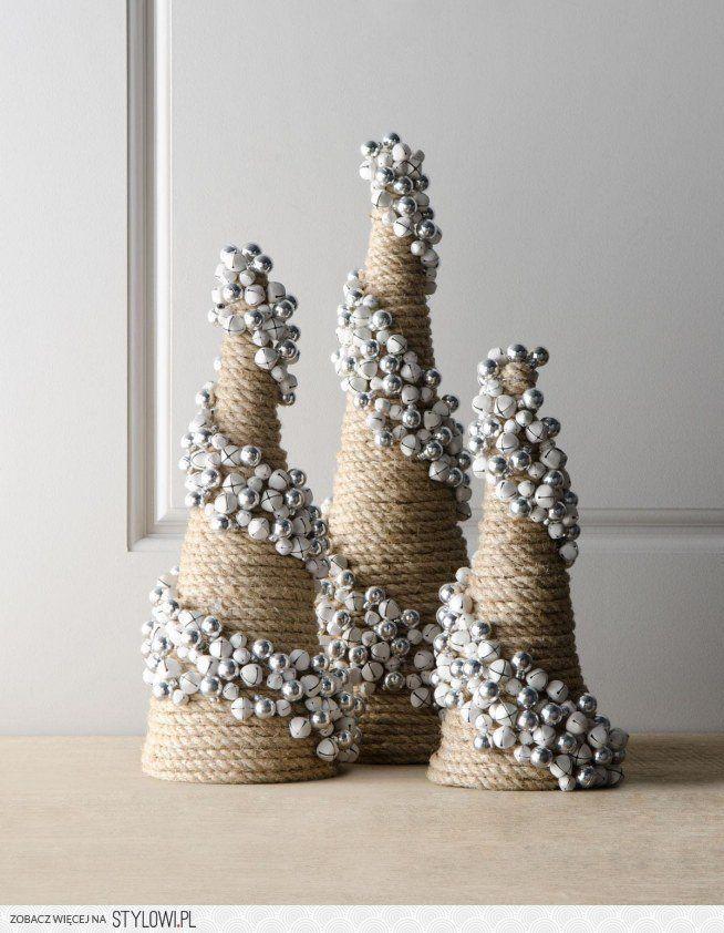 sznuerk, co zrobić z sznurkiem, choinka ze sznurka, sznurek a choinka, ozdoby ze sznurka, ozdoba świąteczna, dekoracje wnerz, oryginalne choinki, pomysłowe choinki,