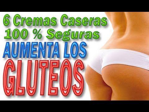 6 Cremas Caseras Para Aumentar Los Glúteos ◄100% Seguras► - YouTube