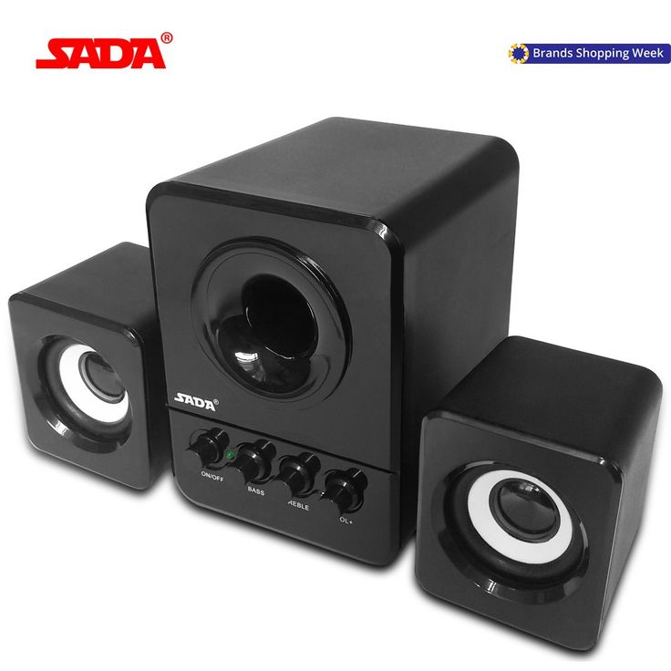 SADA Wired Mini Portable Combination speaker Laptop computer mobile Column computer speaker USB 2.1 Bass cannon 3W PC Speakers //Price: $15.87//     #gadgets