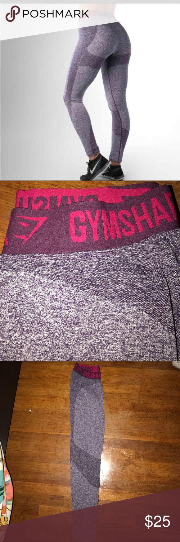 GYMSHARK Gymshark flex leggings in purple. Lightly used. No tears, stretches, or stains. Gymshark Pants Leggings