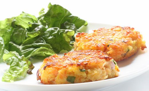 Epicure's Cornmeal-crusted Crab Cakes