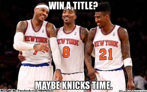 New York Knicks Logic! - http://weheartnyknicks.com/nba-funny-meme/new-york-knicks-logic