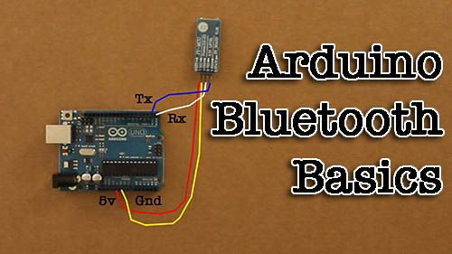 """[tabby title=""""Overview""""] This video will show you the basics of controlling an Arduino through bluetooth. Click the """"Step"""" tags for a walkthrough! [tabby title=""""Step 1″] Acquiring the PartsHere's what you will need: A Bluetooth Capable Smartphone (I'll be using an Android). An Arduino ($10.99) An Arduino Bluetooth Module ($6.45) An LED ($0.99) [tabby title=""""Step 2″]..."""