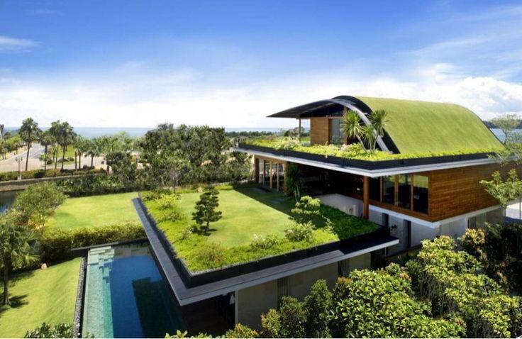 Arquitectura Sustentable: 9 beneficios de los tejados verdes