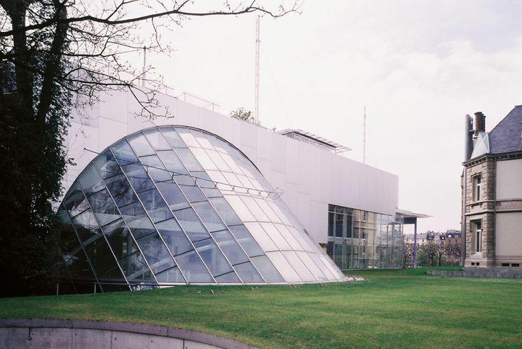 Behnisch postmuseum frankfurt am main arch behnisch for Design museum frankfurt