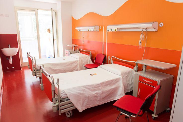 Day Hospital Regina Margherita – Italy / Multifloor Nd Uni flooring   https://www.pinterest.com/artigo_flooring/multifloor-nd-uni/