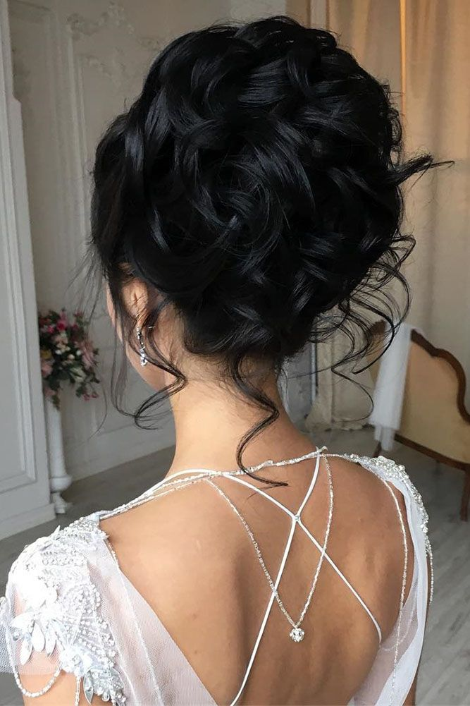 Most Outstanding Wedding Updos For Long Hair ❤ See more: http://www.weddingforward.com/wedding-updos-for-long-hair/ #weddings
