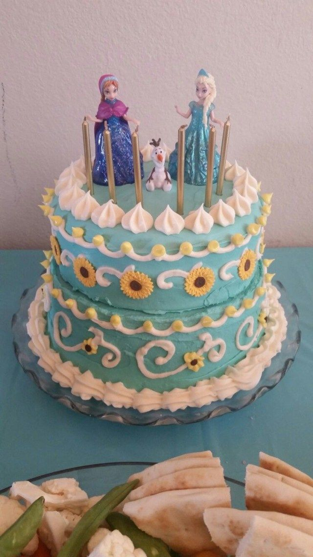 23 Exclusive Image Of Frozen Birthday Cake Walmart Fever Easy Diy Decorating Use Sugar Sunflowers Found At
