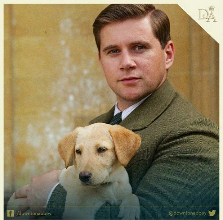 Teo and Branson the cutest on Downton Abbey by far