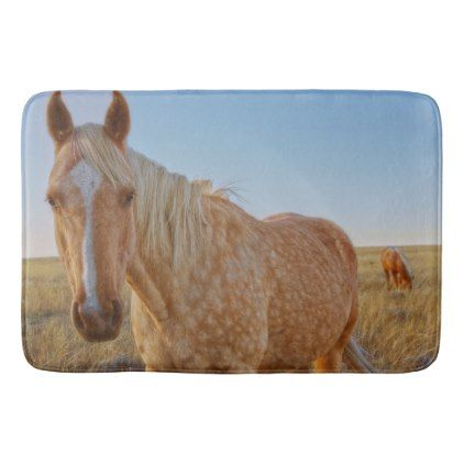 #Bath Mat Western Horse - #Bathroom #Accessories #home #living