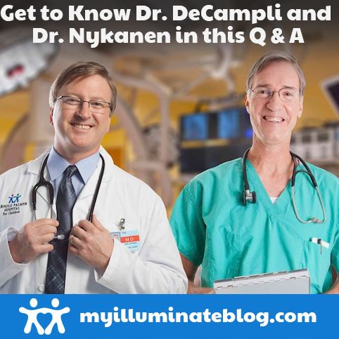 Get to know Dr. DeCampli and Dr. Nykanen, Co-Directors of The Heart Center at Arnold Palmer Hospital, outside the clinical walls in this informal Q & A, here!