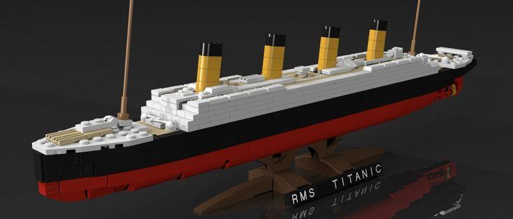 LEGO Titanic #Lego #Titanic #LegoIdeas #Afol #LegoNews