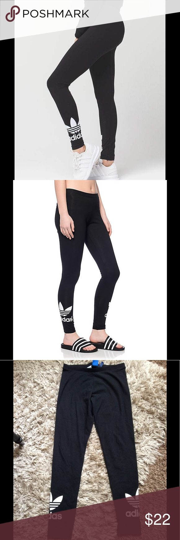 🆕 Adidas Leggings Great leggings for workout or lounging. No fading and no stains or rips. adidas Pants Leggings