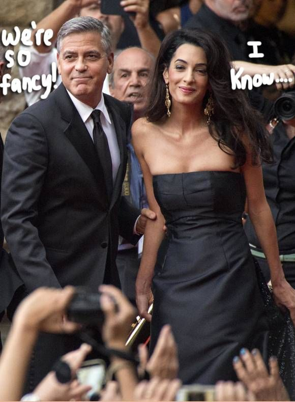 images from george and amal wedding