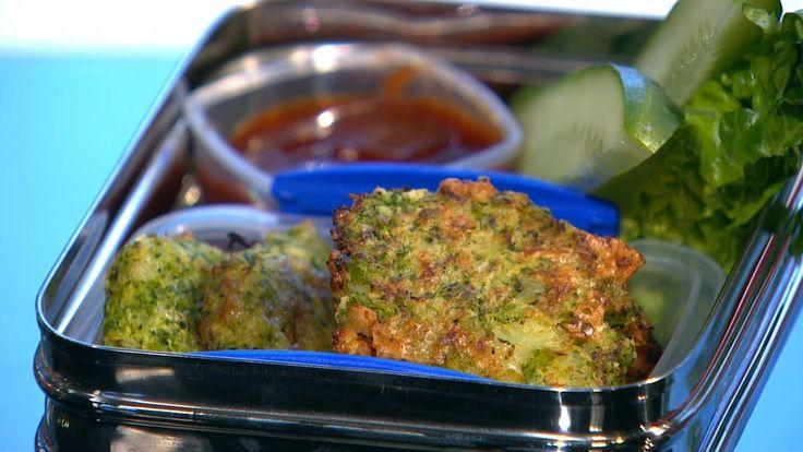 Broccolinuggets er en lækker opskrift af Louisa Lorang, se flere grøntsagsretter på mad.tv2.dk