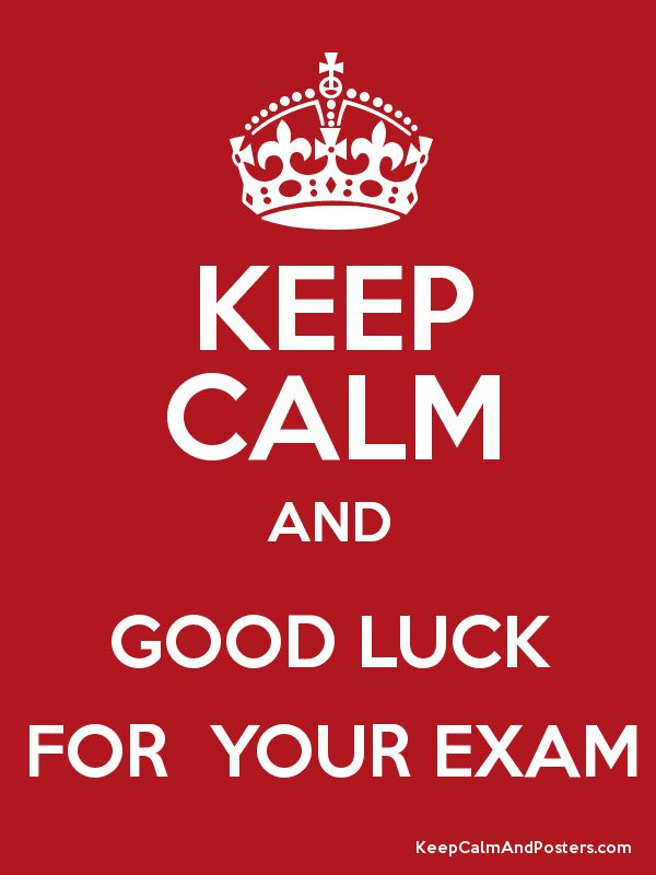 The 25 Best Ideas About Good Luck Exam On Pinterest