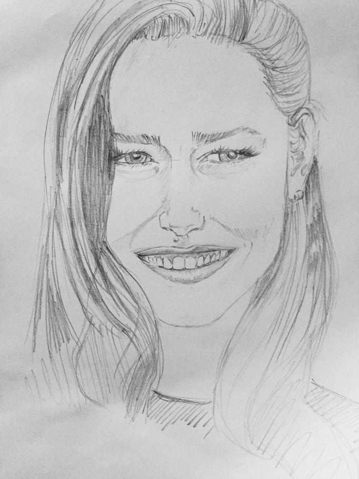 Ana Ivanovic - boceto simple