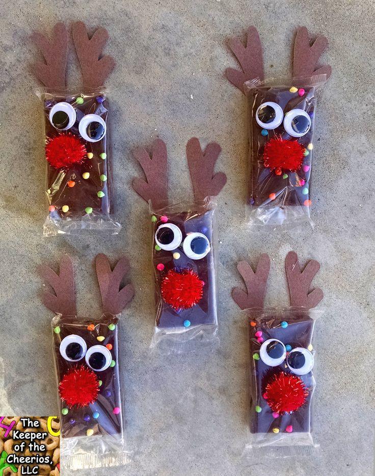 Rudolph Reindeer Brownies