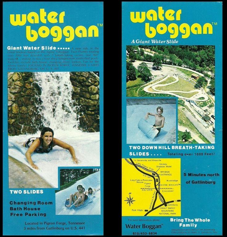 Water Boggan advertisement flyer   Concrete Waterslides ...