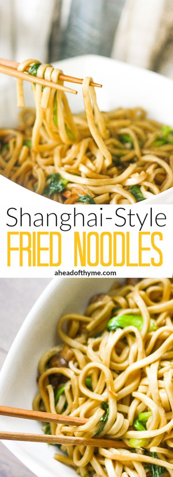 Shanghai-Style Fried Noodles: Forget take-out. Authentic and flavourful Shanghai…