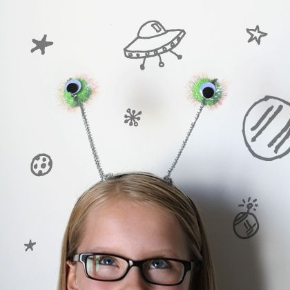 They Came From Outer Space! 10 Alien Crafts for Kids