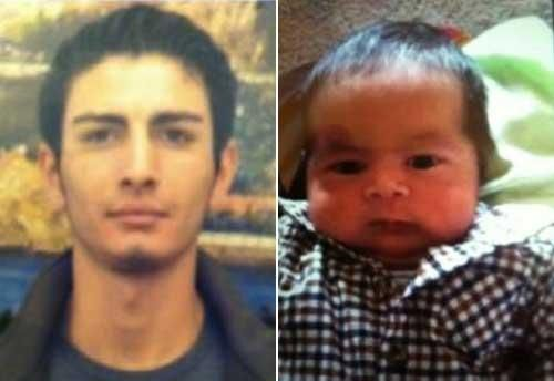The suspect is Mesut Guler, 22, a Turkish man who is 6-feet tall, 120 pounds with brown hair and brown eyes. The baby, Henry Guler-Romero,(male,1 month old) was last seen with his father at 4 p.m. in a tan 2004 GMC Envoy, with a California licence plate No. 6HIL892. WITH A LARGE AMERICAN EAGLE ON REAR WINDOW. Contact Mark Gomez at 408-920-5869. Follow him on Twitter @MarkMgomez. If you have information, please contact Sunnyvale Police Department, 408-730-7101 or 911