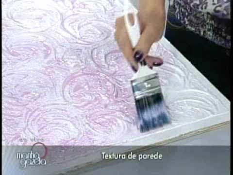 Efeito Rosas 1/1 - Texturização de Paredes c/ Ângela Ferraz