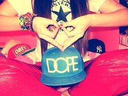 #dope #snapback #tumblr #converse #obey #swag #yankees #cap