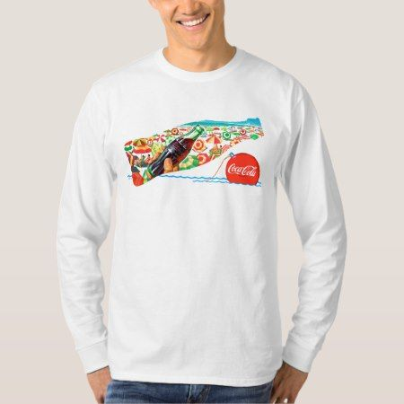 Vintage Coca-Cola | Fun At The Beach T-Shirt - click to get yours right now!